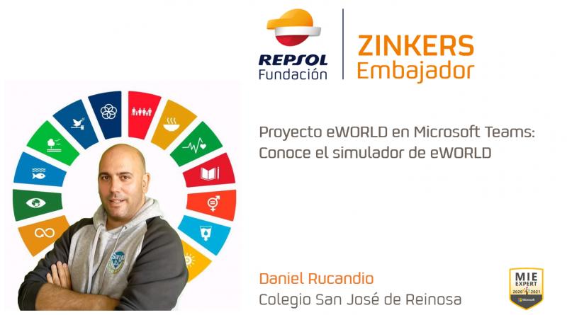 Daniel Rucandio el simulador
